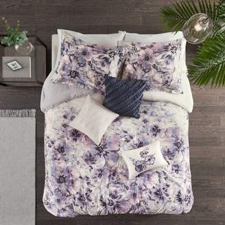 Nobrand No Brand 7pc Slade Cotton Printed Comforter Set
