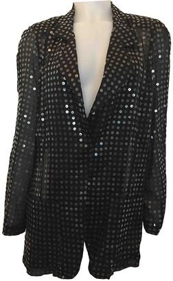 Krizia Black Cotton Jacket for Women