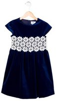 Florence Eiseman Girls' Lace-Trimmed Velvet Dress w/ Tags