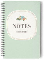 Minted Floral Composition Day Planner, Notebook, or Address Book