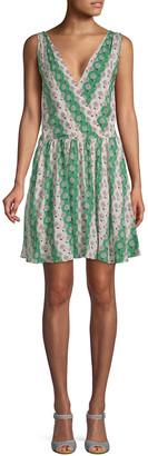 Paul & Joe Sister Dafnee Printed A-Line Dress