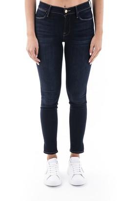 Frame Cotton Blend Jeans