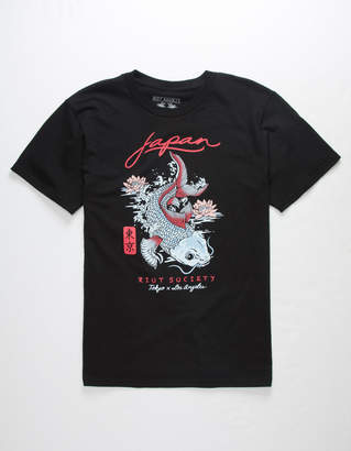 Riot Society Koi Lotus Boys T-Shirt