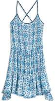 Sperry Medallion Mix Tiered Swing Dress