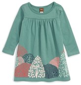 Tea Collection 'Kawachi' Tree Graphic Dress (Baby Girls)