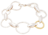 Gurhan Sterling Silver & 24K Yellow Gold Chain Link Bracelet