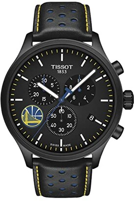 Tissot Chrono XL NBA Golden State Warriors Championship Edition - T1166173605102 (Black/Black/Blue) Watches