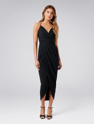 Ever New Charlotte Drape Maxi Dress