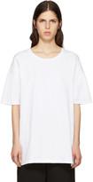 Y's White All Needles Big T-Shirt