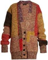 Burberry V-neck drop-shoulder knit cardigan