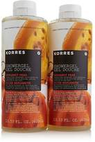 Korres Bergamot Pear Shower Gel Duo