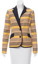 Sea Striped Structured Blazer