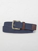 White Stuff Elastic weave belt