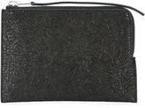 Rick Owens medium zipped pouch - men - Calf Leather/Lamb Skin - One Size