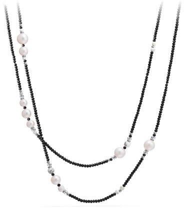 "David Yurman Oceanica Tweejoux Necklace with Pearls, 41"""