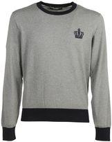 Dolce & Gabbana Embroidered Crown Sweatshirt