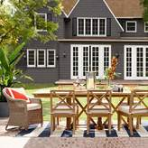 Williams-Sonoma Williams Sonoma Somerset Teak Outdoor Dining Table