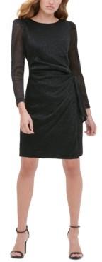 Tommy Hilfiger Metallic Sheath Dress