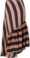Stella McCartney fluid striped skirt - women - Silk/Viscose - 46