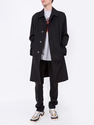 Givenchy Back Logo Overcoat