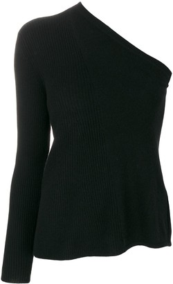 Cashmere In Love cashmere Tisa open shoulder top