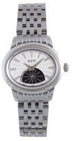 RSW Women's 6140.BS.S0.2.00 Consort Oval White Sunray Dial Sapphire Crystal Sub-second Watch