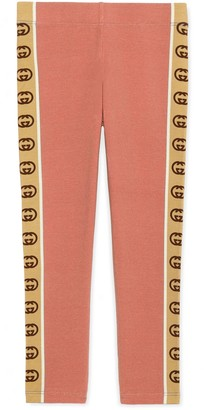 Gucci Children's leggings with InterlockingG