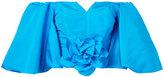 Bambah - bubble flower top - women - Silk - 8