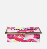 Avenue Glam Kiss Lock Cosmetic Case
