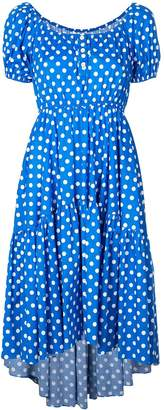 Caroline Constas polka dot dress