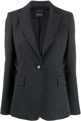 Pinko tailored checked blazer