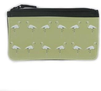 Dwelling Bird Flamingo Accessory Case Olive