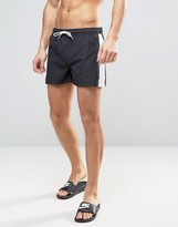 Brave Soul Bravesoul Side Pannel Short Length Swim Short