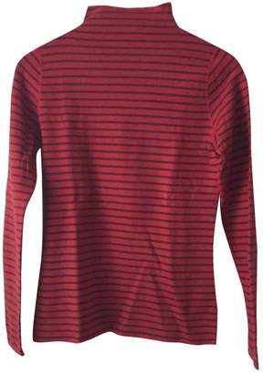 Petit Bateau Red Cotton Top for Women