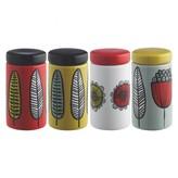 Freda Set of 4 spice jars
