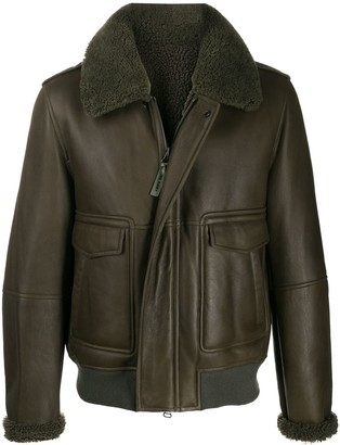 Yves Salomon Homme Fully-Lined Zip-Up Jacket