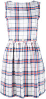 MAISON KITSUNÉ sleeveless check dress - women - Cotton/Viscose - 36