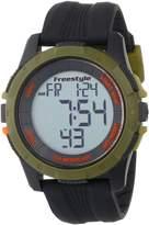 Freestyle Men's 103315 Kampus Analog Display Japanese Quartz Black Watch