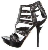 Emilio Pucci Stud-Embellished Platform Sandals