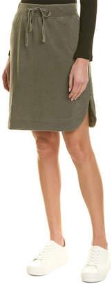 James Perse Pull-On Fleece Skirt