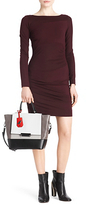 Diane von Furstenberg Joy Bodycon Dress In Purple Rouge