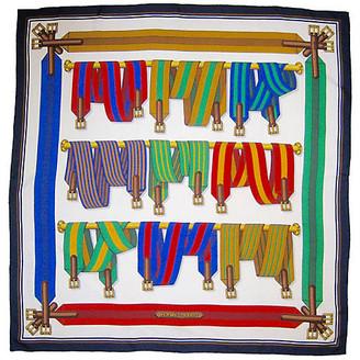 One Kings Lane Vintage Hermes Sangles Scarf - The Emporium Ltd.