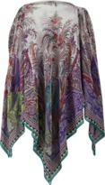 Etro Cold Shoulder Poncho