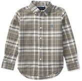 Ralph Lauren Childrenswear Cotton-Flax Plaid Sports Short