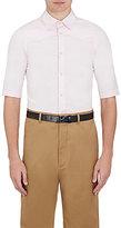 Balenciaga Men's Cotton Short-Sleeve Western Shirt