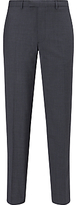 Daniel Hechter Puppytooth Tailored Fit Suit Trousers, Airforce