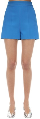MSGM Tailored Double Crepe Shorts