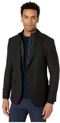 Robert Graham Downhill VII Sport Coat (Black) Men's Clothing