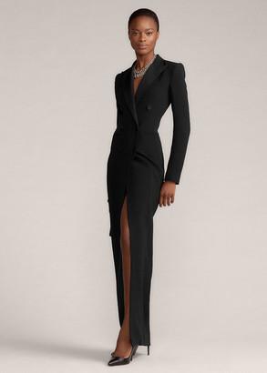 Ralph Lauren Kristian Silk Cady Dress