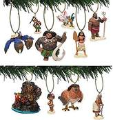 Disney Moana Deluxe 10pc Ornament Set